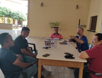 Equipe Doocesana de animação das CEBs se reúne em Poconé para encaminhamentos rumo ao 15 Encontro Intereclesial em Rondonópolis-MT