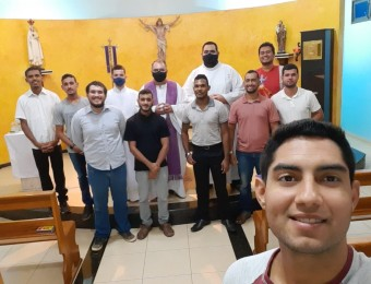 Seminário Maior São José recebe a visita do Pe. Osvaldo