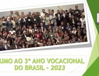 BRASIL SE ENCAMINHA PARA O 3º ANO VOCACIONAL
