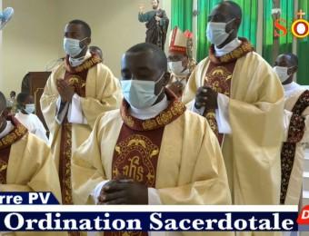 Os Diáconos Patrice e Stanley foram ordenados nessa manhã Sacerdotes