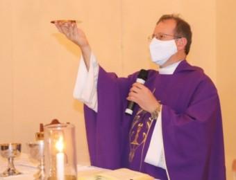 Padre Evandro comenta sobre o período da pandemia