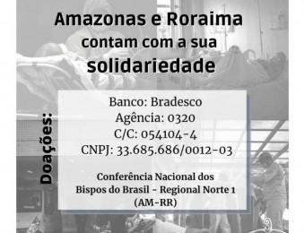 Arcebispo de Manaus pede socorro!
