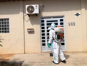 Paróquia Cristo Trabalhador recebe cuidados sanitários.