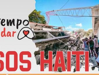 SOS HAITI: IGREJA NO BRASIL MOBILIZA SOLIDARIEDADE COMO GESTO DA AÇÃO SOLIDÁRIA É TEMPO DE CUIDAR